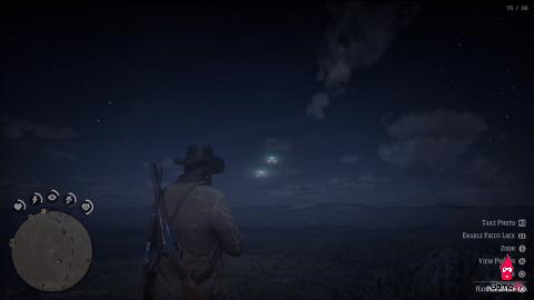 Bí ẩn về người ngoài hành tinh trong Red Dead Redemption 2