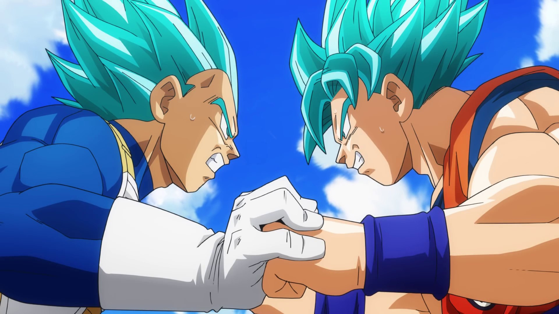 Goku đấu với Vegeta