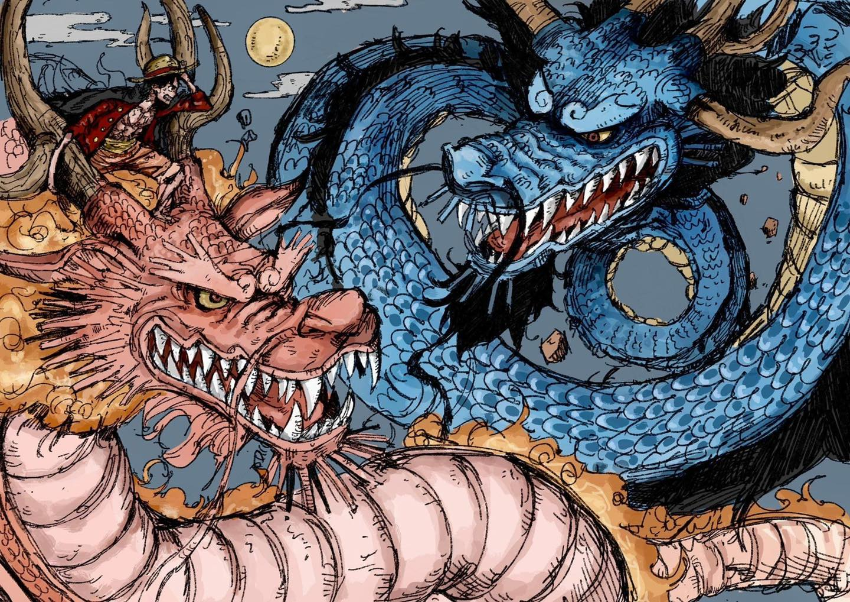 One Piece 1025 Spoiler: Song Long tranh đấu