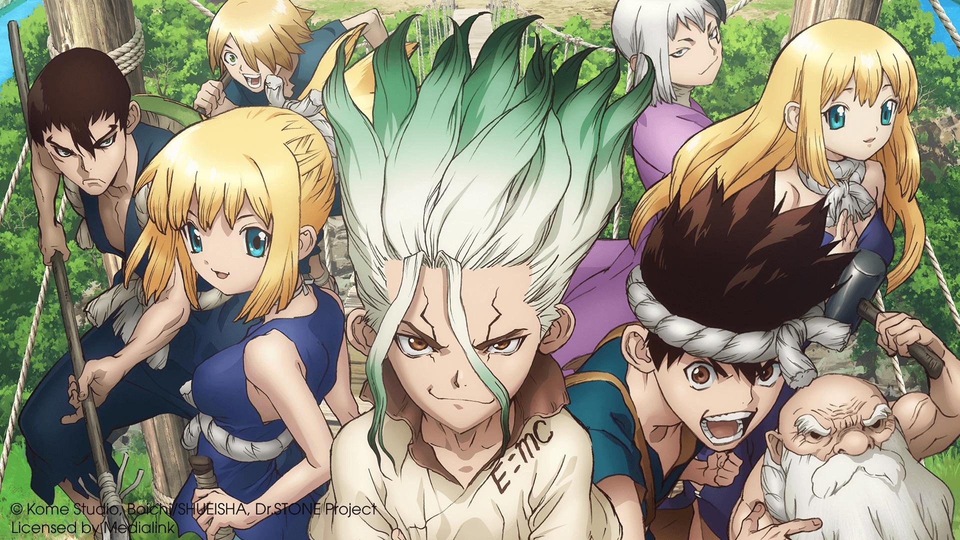 Manga Dr Stone đang dần bước tới phần cuối cùng