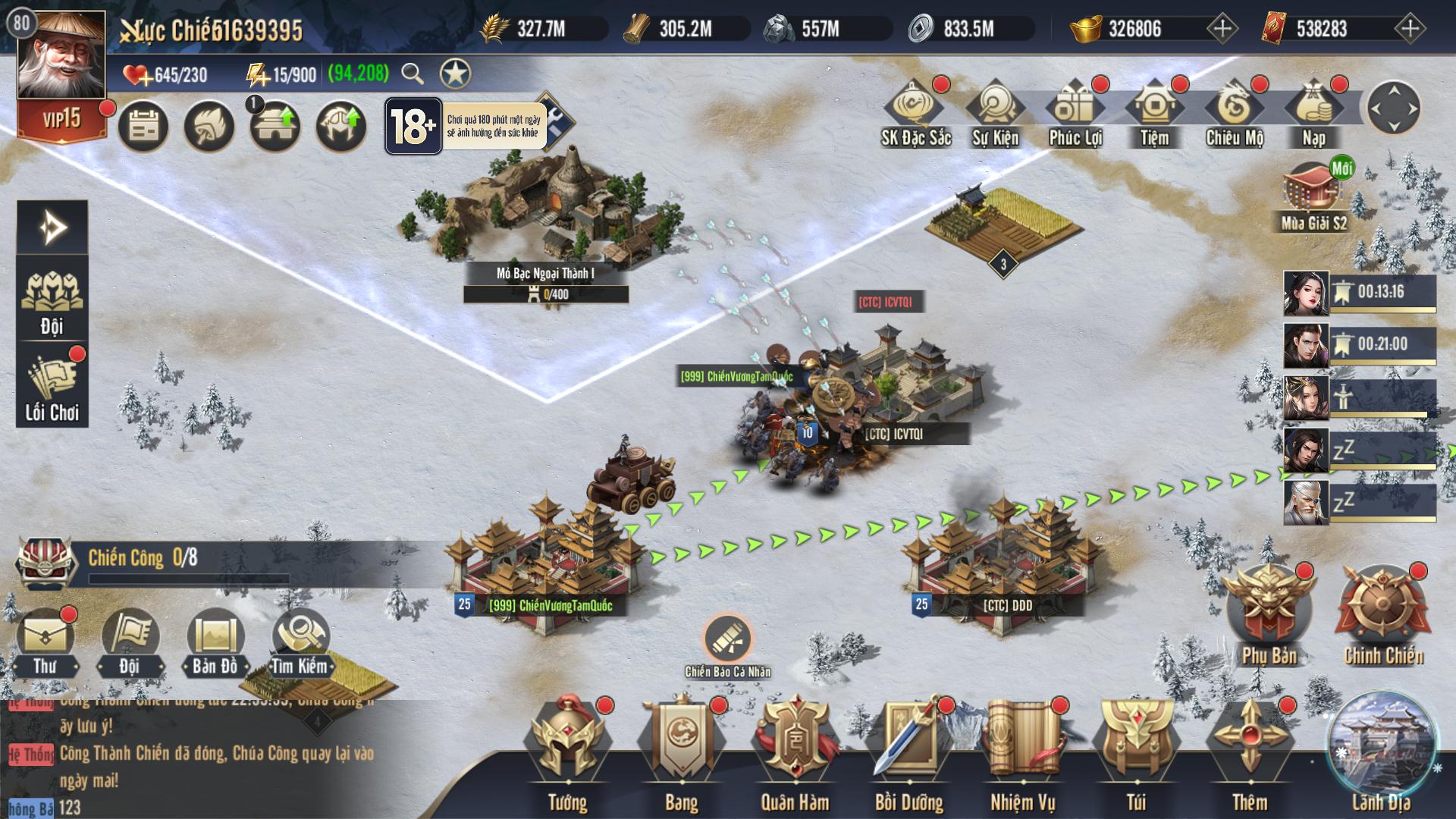 Chiến Vương Tam Quốc Mobile