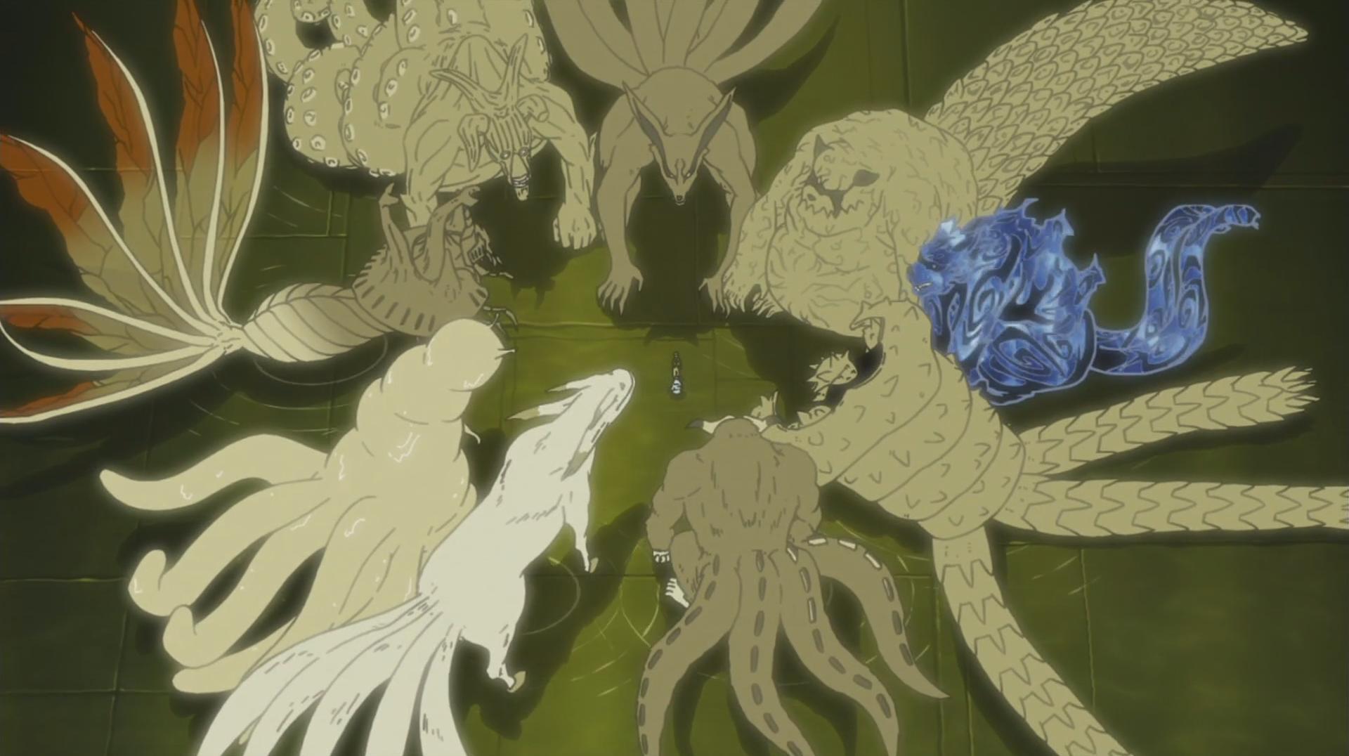 Trong Boruto, vĩ thú đã thay đổi rất nhiều so với thời của Naruto